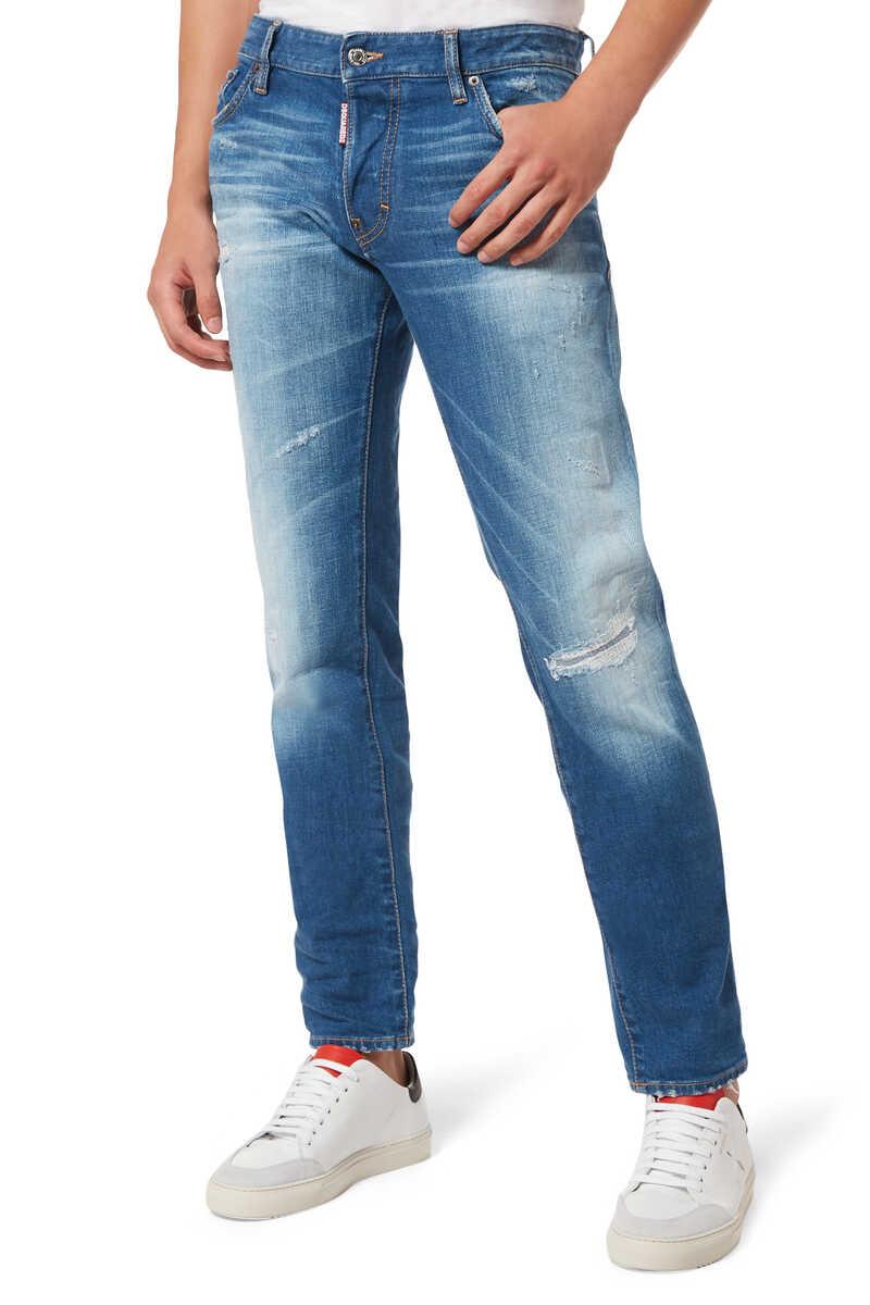 Slim Rammendo Denim Jeans image number 1