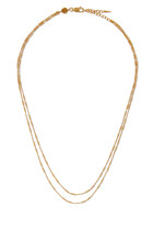 Vervelle Double Chain Necklace