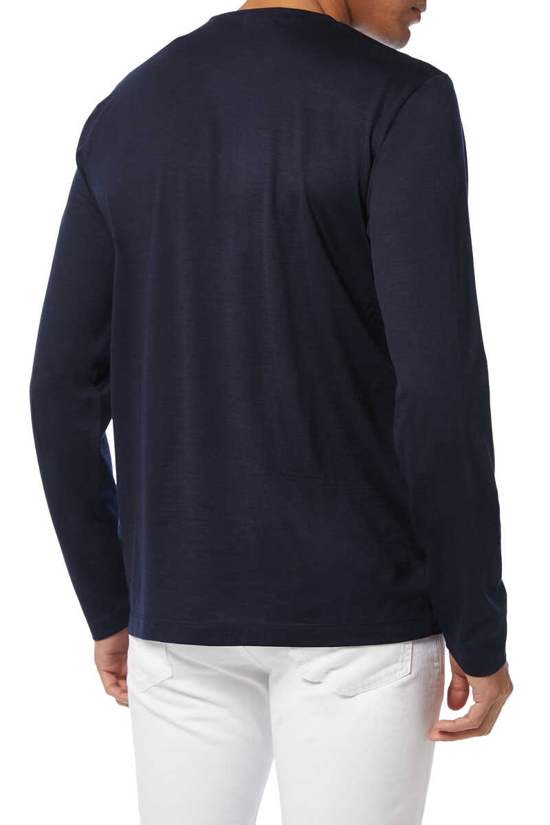 Finch Wool Crewneck Sweater image number 3