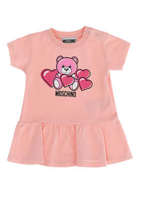 Bear With Hearts Dress