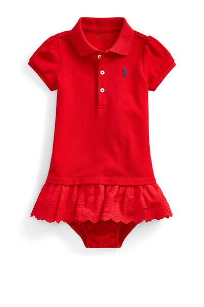 Polo Dress and Bloomer Set