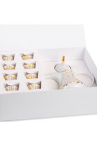 Accents Dallah And Ghida Coffee Cup Set