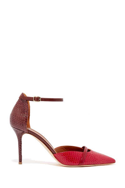 BooBoo Elaphe Ankle Strap D'orsay Pumps