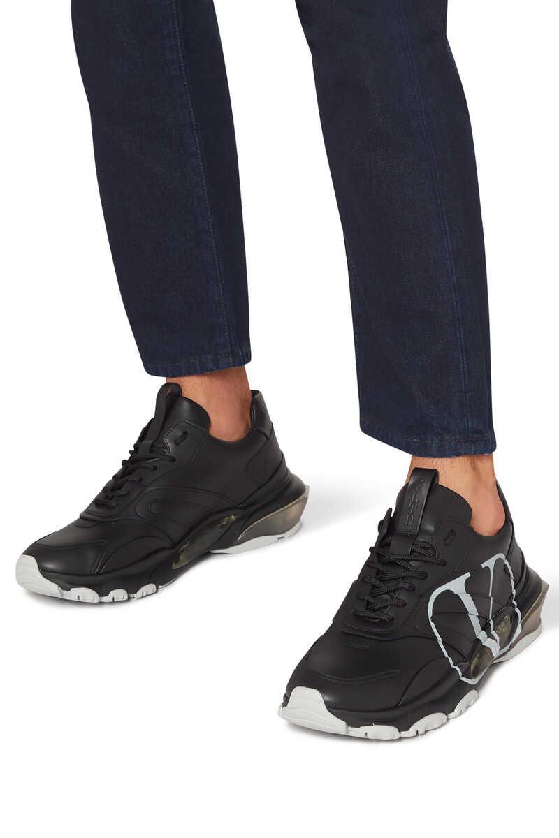 Valentino Garavani V-logo Bounce Sneakers image number 2