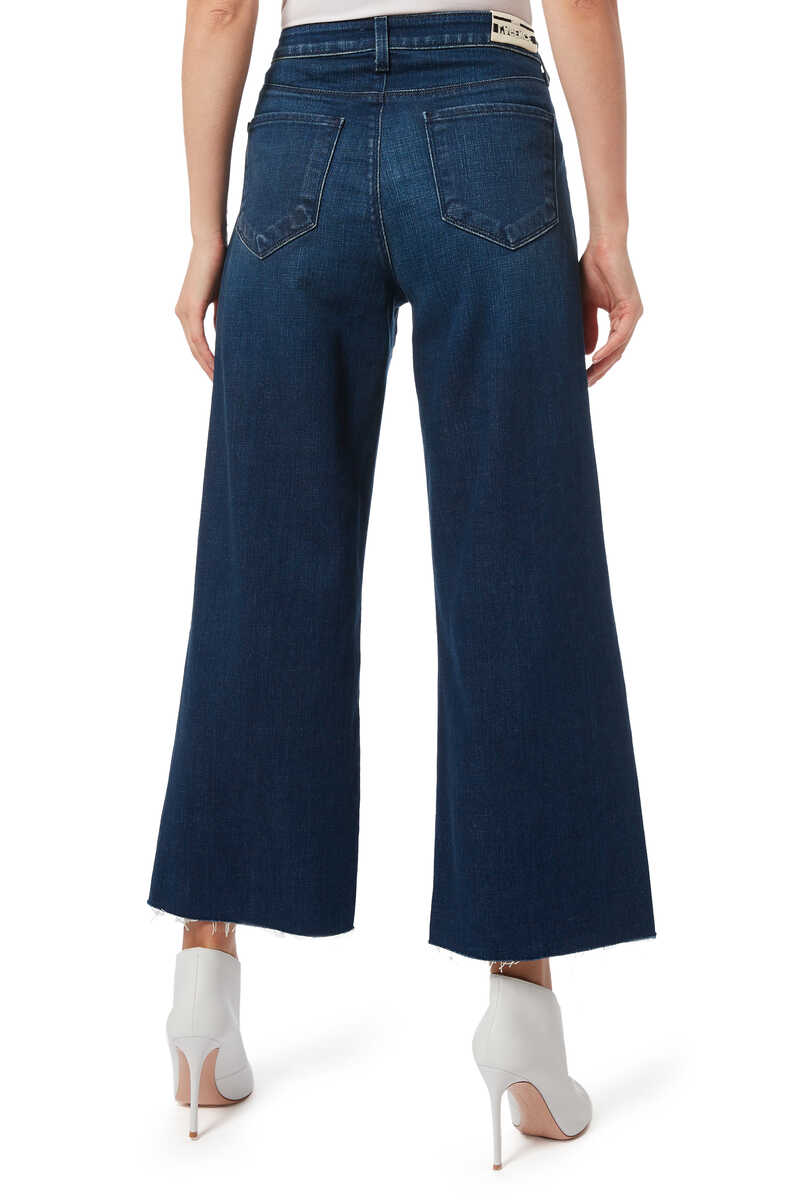 Danica Wide Leg Denim Jeans image number 3