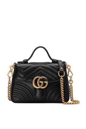 Marmont Top Handle Bag
