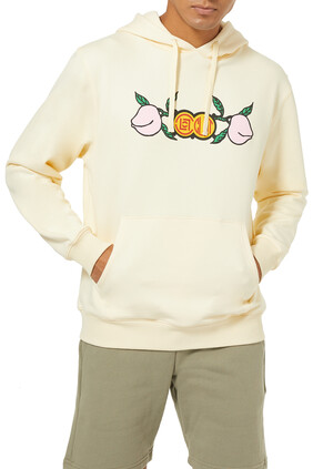 Peach Logo Hoodie