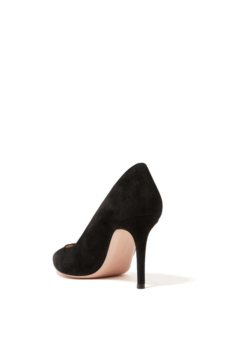 Suede Point Toe Pump image number 3