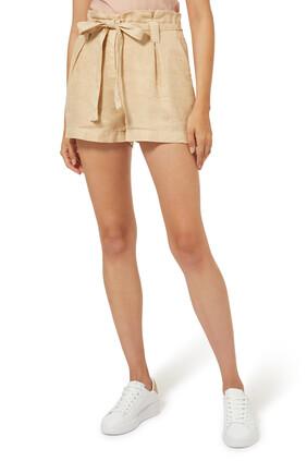 Hillary Linen Shorts