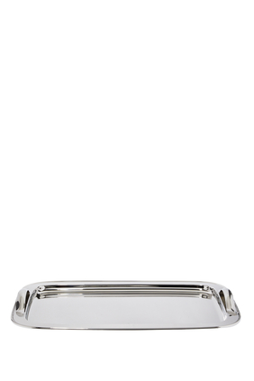 Silver Plated Rectangular Tray