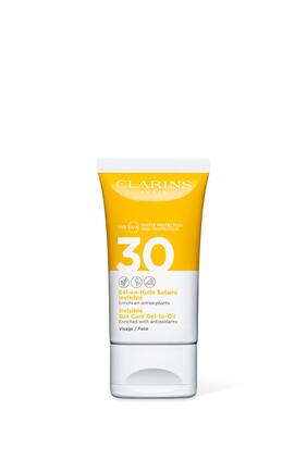 Invisible Gel-to-Oil Facial Sun Care UVA/UVB 30