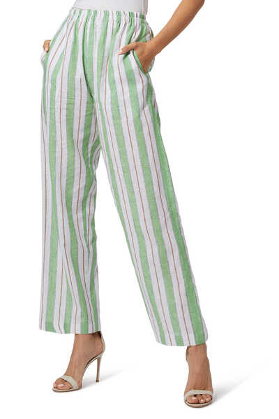 Striped Oriental Pants