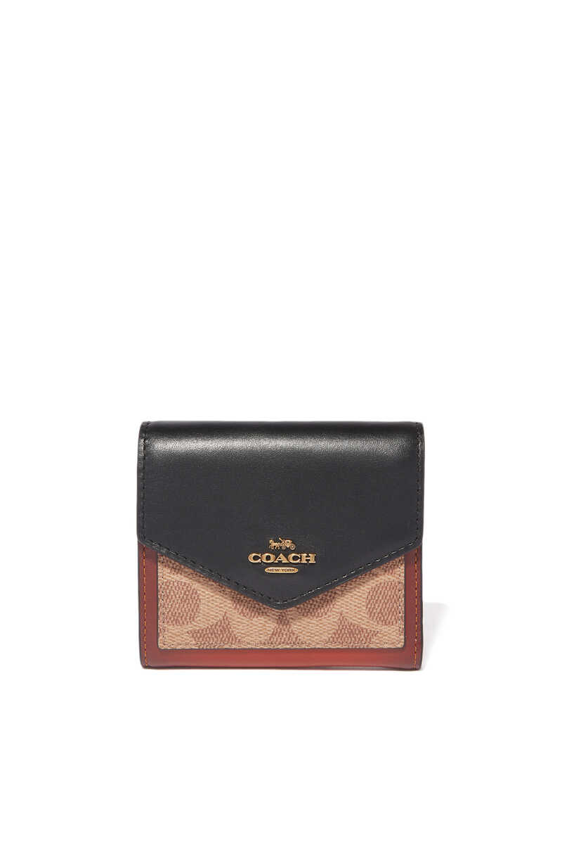 Colourblock Signature Small Wallet image number 1