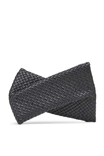 Twisted Woven Clutch