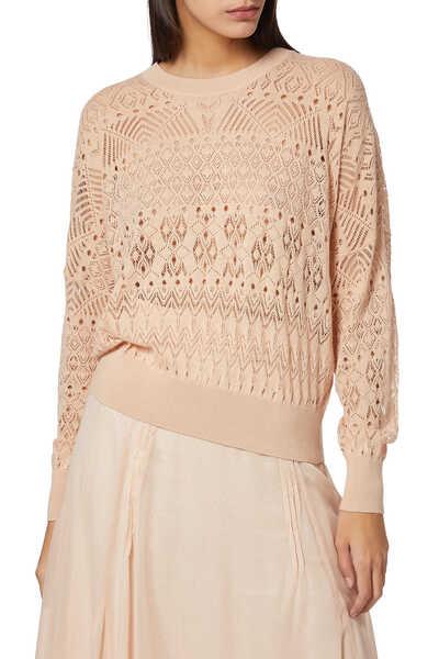 Peypin Guipure Sweater