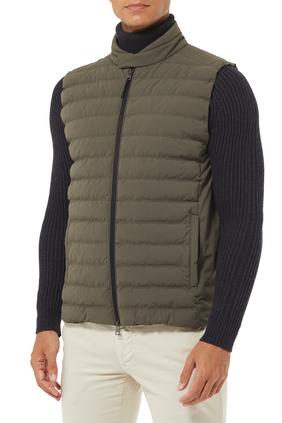 Bi-stretch Puffer Jacket
