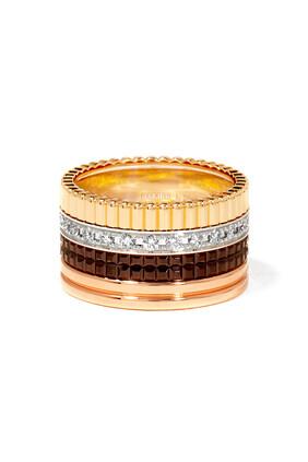 Classique Quatre Large Ring