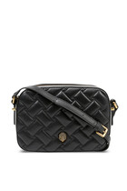 Kensington Quilted Leather Camera Bag