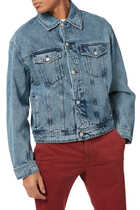 Paris Boxy Fit Denim Jacket