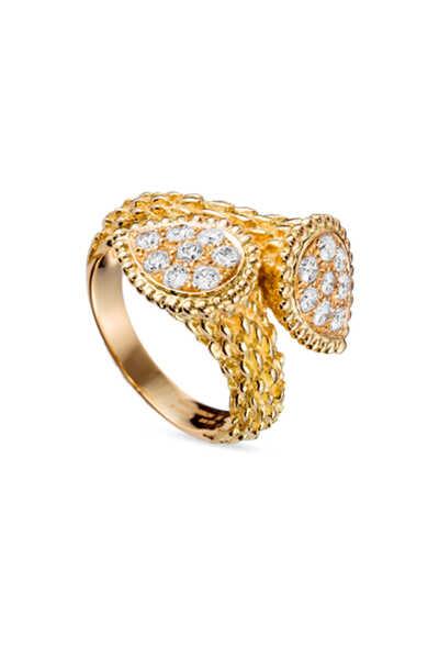 Toi Et Moi Serpent Bohème Diamond Ring