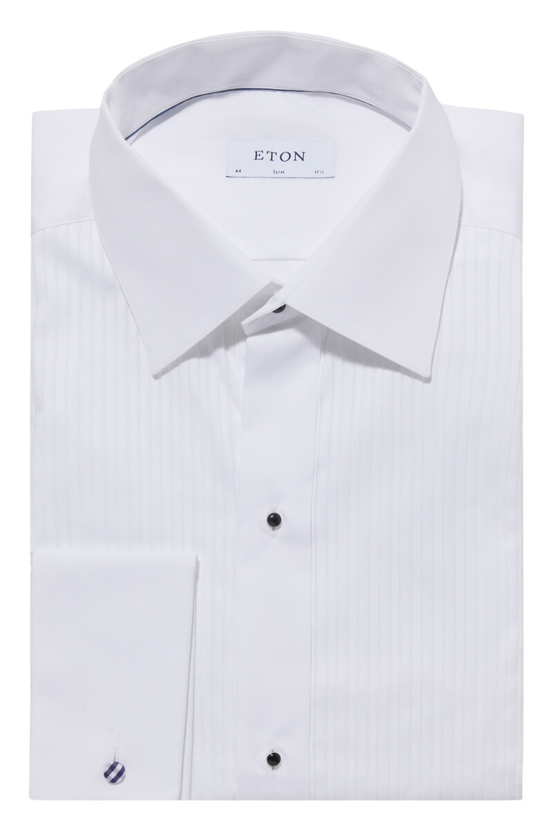 Slim Fit Plissé Evening Shirt image number 1