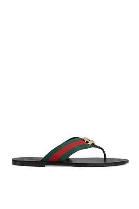 Web Thong Sandals