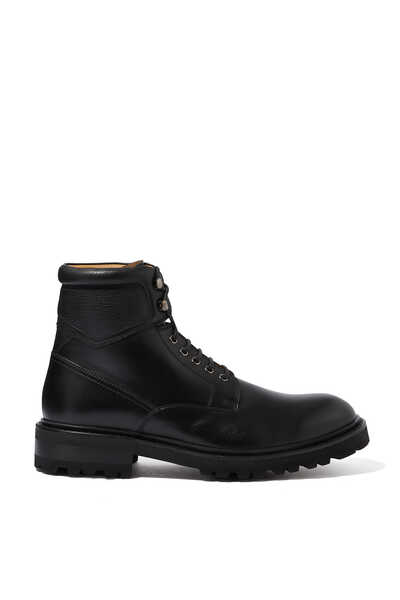Leather Lace Up Boots