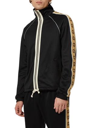 Oversized Technical Jersey Jacket