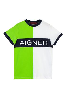 Logo Colorblock T-Shirt