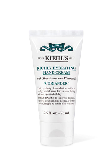 Richly Hydrating Coriander Hand Cream
