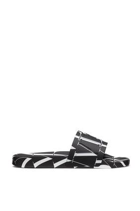 Valentino Garavani VLTN TIMES Slide Sandals