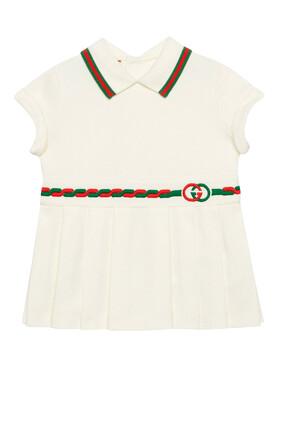 Interlocking G Cotton Dress