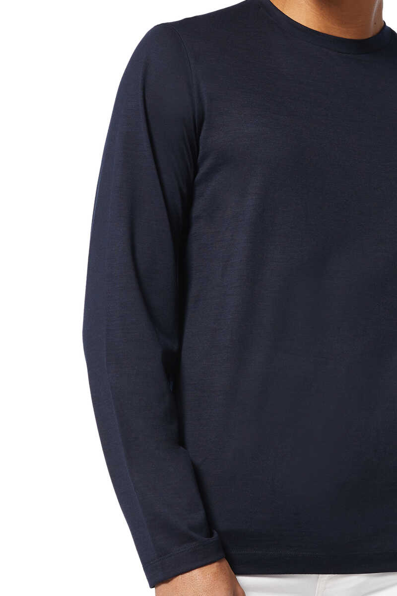 Finch Wool Crewneck Sweater image number 4