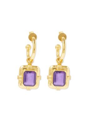 Stone Pendent Earrings