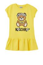 Daisy Teddy Bear Fleece Dress