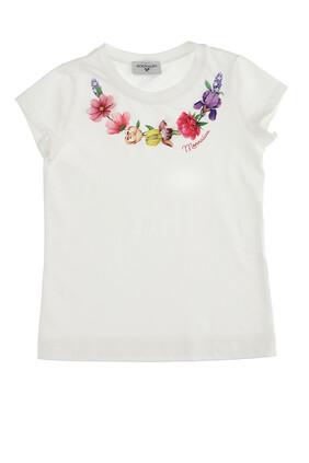 Cotton Floral T-shirt