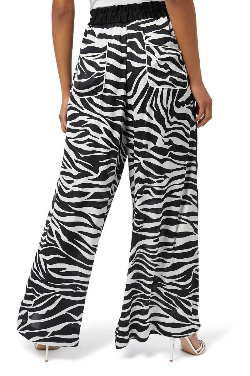 Zebra Print Pants image number 3