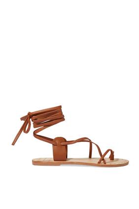 Ankle Wrap Gladiator Sandals