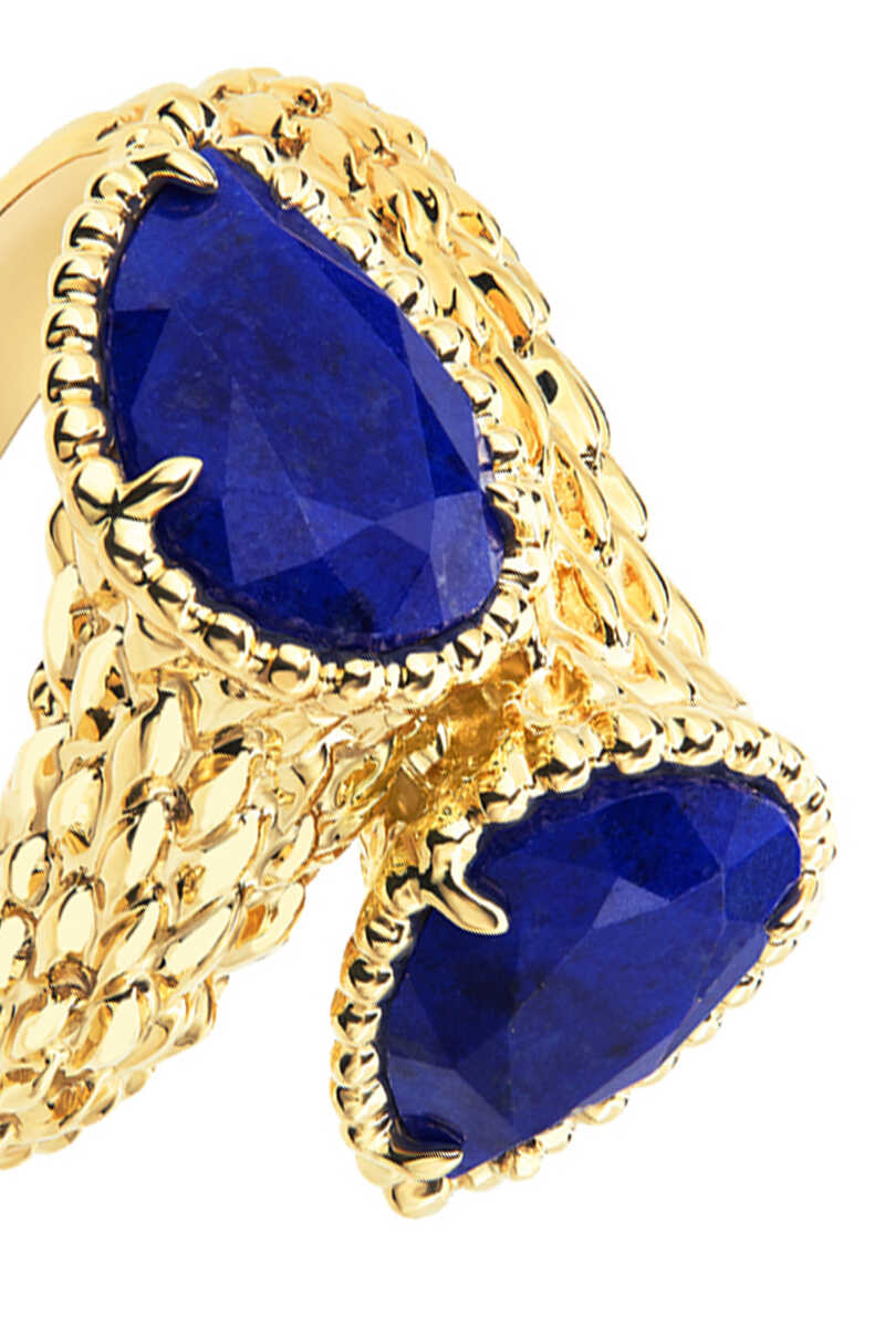 Toi Et Moi Serpent Bohème Lapis Lazuli Ring image number 3