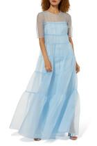 Hyacinth Tiered Organza Dress