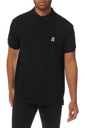 Teddy Bear Pique Polo Shirt