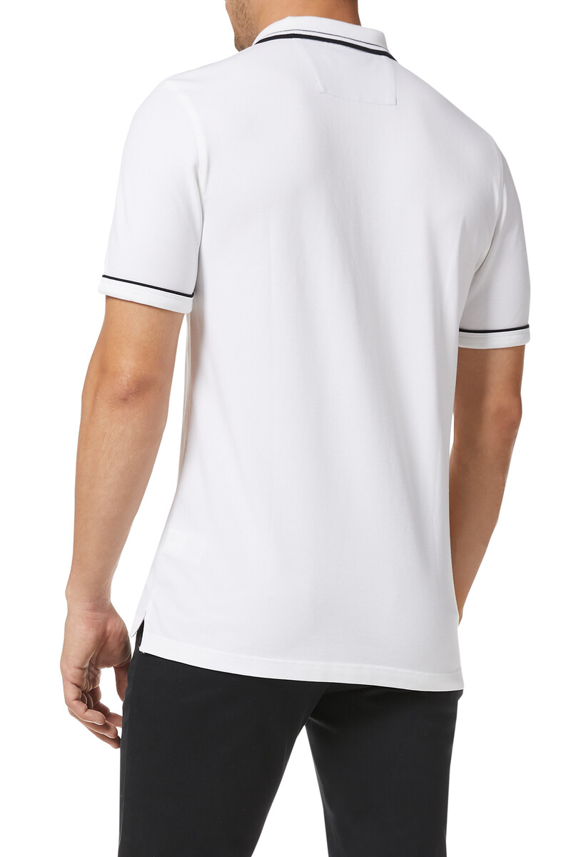 Tipped Pique Polo Shirt image number 3