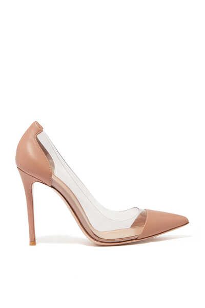Plexy Nappa Leather Pumps