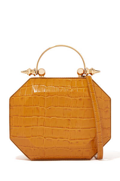 Octabox Leather Handbag