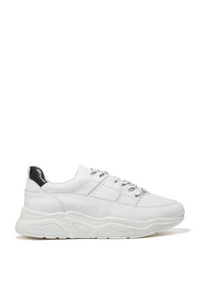 Justin Leather Running Sneakers