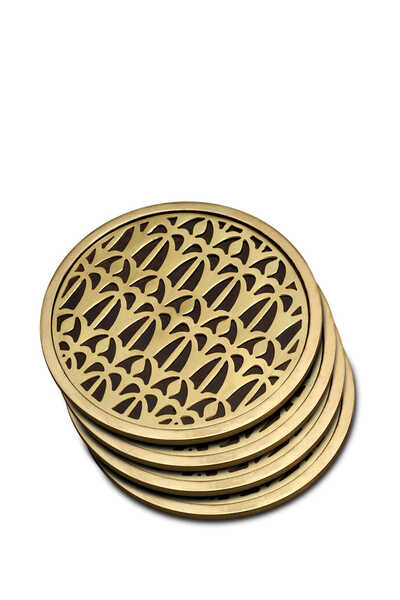 Fortuny Venise Coasters Set Of Four
