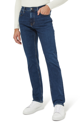 The Straight Denim Jeans