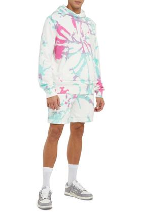 Tie Dye Sweat Shorts