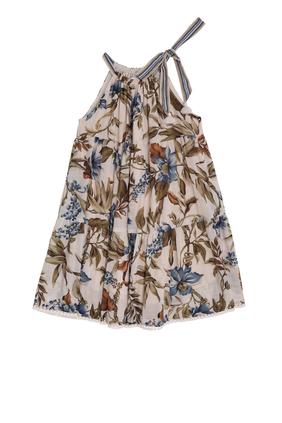 Aliane Halter Tiered Dress