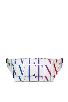 Valentino Garavani VLTN Times Leather Belt Bag